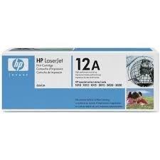Toner HP Original Preto Q2612A
