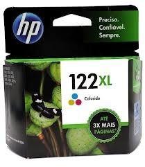 Cartucho HP Original Colorido 122XL