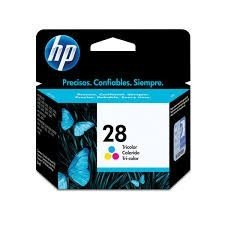 Cartucho HP Original Colorido 28