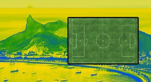 Painel e Quadro Magnético - Brasil 100x50cm
