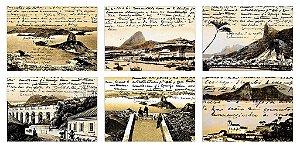 Jogos Americanos - Rio Antigo Sépia (6 unidades)
