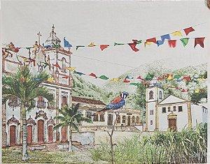 Lona Igarassu Pernambuco  (1,75 X 1,40 cm )