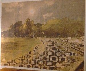 Lona Orla do Rio de Janeiro de Chicô Gouvêa (185X160cm)