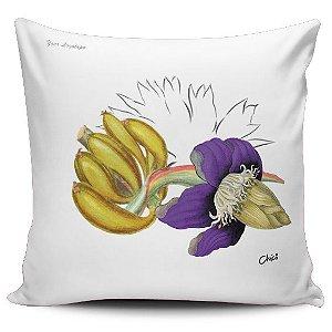 DUPLICADO - Almofada Bananas em flor 7 (UNIDADE)