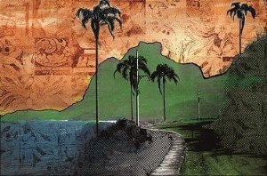 Lona Niemeyer e Pedra Gávea (190x125 cm)