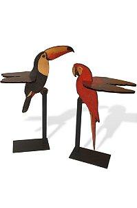 Mesa Pássaros Brasileiros