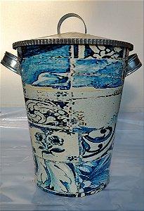 Latão 30 litros Azulejos - Olhar o Brasil