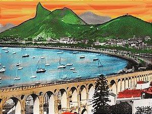 Lona Enseada de Botafogo (154x139 cm)