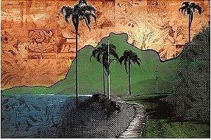 Painel e Quadro Magnético - Niemeyer e Pedra Gávea (150x100)