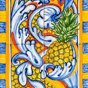 Painel de Azulejo 06 - 28x28cm