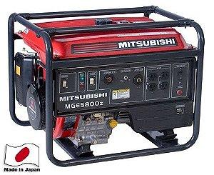 Gerador a Gasolina Mitsubishi - MGE 5800Z - ROA AVR Bivolt - Part. Elétrica