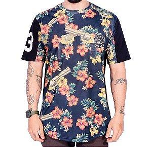 Camiseta Chronic Floral Calibre 38 Tr3z3