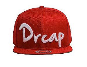 Bone Doutor Cap Cursive 3d Red Whipe Drcap Vermelho