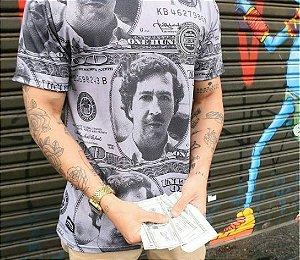 Camiseta Chronic Pablo Escobar Don Pablo Dollar EUA