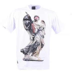 Camiseta Chronic Angel Arm Fuzil Branca Original