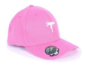 Boné Dad Hat Aba Curva Chronic Uzy Snapback Rosa Original