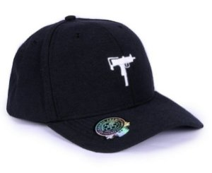 Boné Dad Hat Aba Curva Chronic Uzy Snapback Preto Original