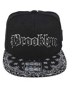 Boné Brooklyn E-Stars Original Aba Reta Snapback Edição Especial 97ed7f83f3a