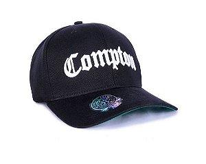 Boné Compton Chronic Snapback Aba Curva NWA Straight Outta Compton Edição Especial