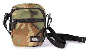 Shoulder Bag Chronic Camuflada 2 compartimentos Frontais alça lateral
