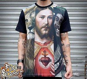 Camiseta Chronic 3 Reis Preta Kings of the World