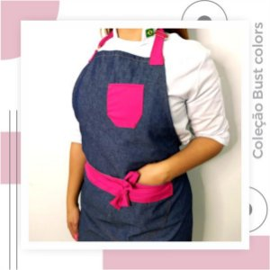 Avental Bust Colors com Bolso