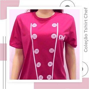 Tshirt Chef Rosa pink