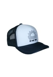 Boné Aba Curva Outstanding Trucker Neoprene No Bad Vibes