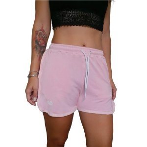 Shorts Moletinho Outs x EMMMES Rosa