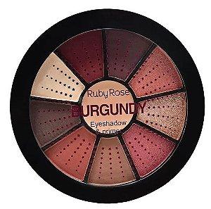 Mini Paleta De Sombras + primer Magic Burgundy Ruby Rose