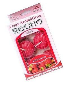 Velas aromáticas recho / rechaud Morango