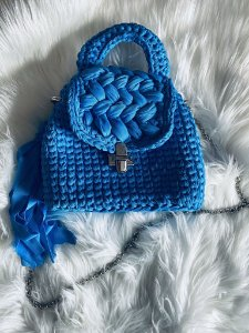 Bolsa Aline Azul