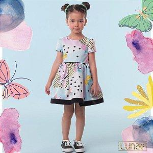 Vestido Geométrico Butterfly Monsucré