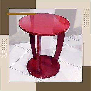 Mesa Banqueta Design Vermelho