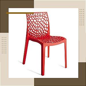 Cadeira Gruvyer Design Vermelho
