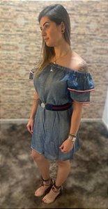Vestido Jeans Ciganinha