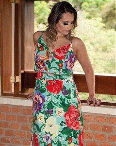 Vestido Longo Florido Jessica