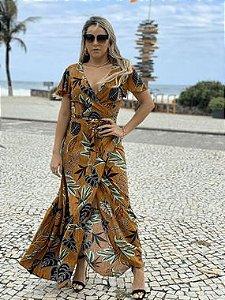 BL ALÇA FLORZINHA LASTEX - EUCALIPTO