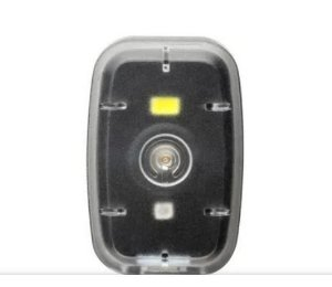Farol Clip com Luz Dianteira 20L/ Traseiro 2L 200mAh USB