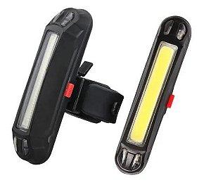 Lanterna Traseiro Sinalizador Recarregável  LT 8550 Usb