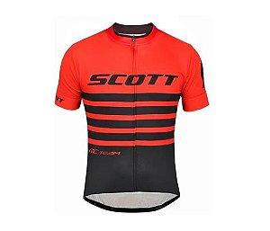 Camisa Scott RC Team Vermelho e Preto