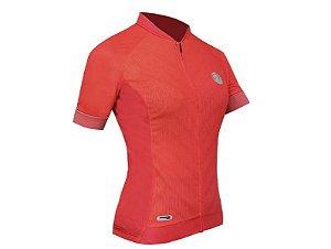 Camisa Mauro Ribeiro wit rosa feminina