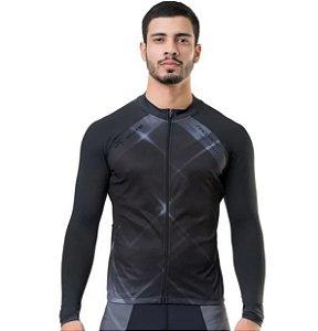 Camisa Ciclismo Elite Special Masculina - Preto