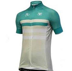 Camisa Masculino Opacity Creme/Verde