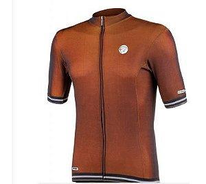 Camisa Mauro Ribeiro masculina adapt laranja