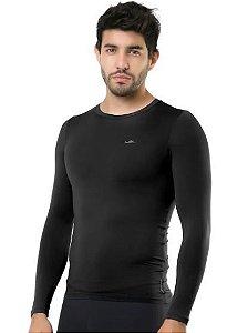 Camiseta térmica elite manga longa uv 50 slim fit