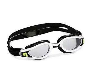 Óculos natação Aqua Sphere Kaiman Exo / Preto-Branco-Transparente