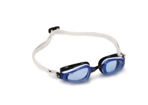 Óculos natação Michael Phelps K 180 Preto Branco
