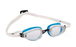 Óculos natação Michael Phelps K 180 Azul Branco