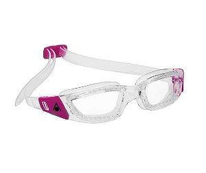Óculos de Natação Aqua Sphere Kameleon Lady Transparente e Rosa Lente Fume